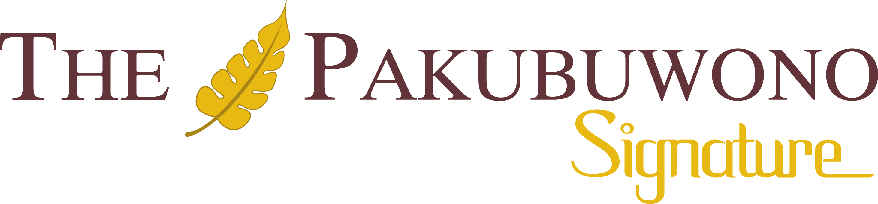 The Pakubuwono Signature